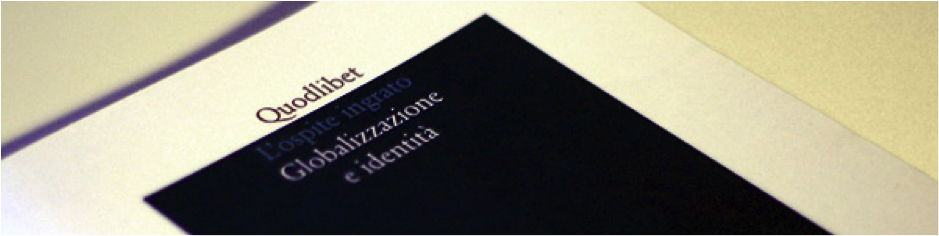 Photo of L'Ospite Ingrato academic review cover.
